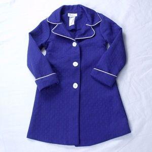 Bonnie Jean Navy Blue Dress Coat